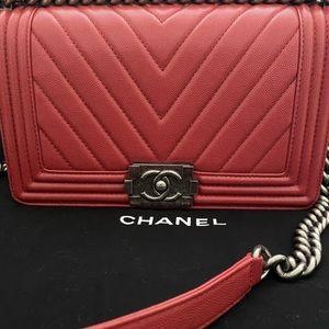 Chanel Le Boy Old Medium